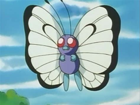 All Ash's Butterfree moves - YouTube