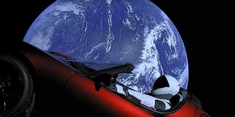 You can now track where Elon Musk's Tesla Roadster is in