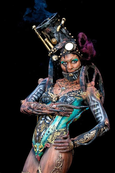 Bodyart on Unique Style: Body Painting Events