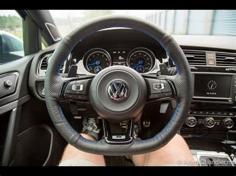 Golf R MK7 Leather Steering Wheel Wrap + How to Remove