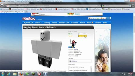 how to get free roblox acount and catalog items for