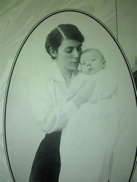 Edith Tolkien with son, J
