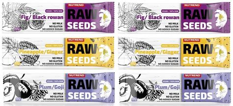 AKCE 5+1 NUTREND RAW SEEDS BAR 50g | fitness