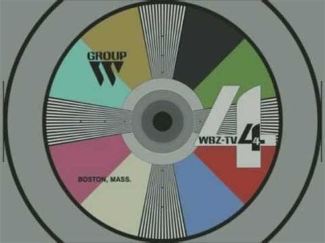 Repros of Local TV Station Color Test Patterns - 1960's