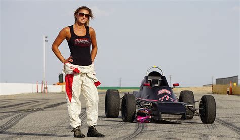 LEAH PRITCHETT SWITCHES FROM DRAG STRIP TO ROAD COURSE AS