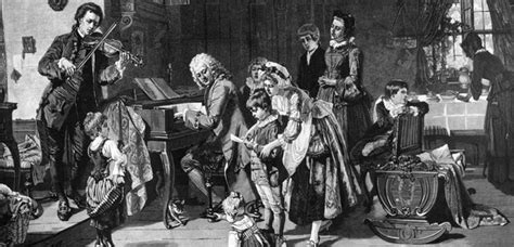 Bach's friends, family, and important people in his life
