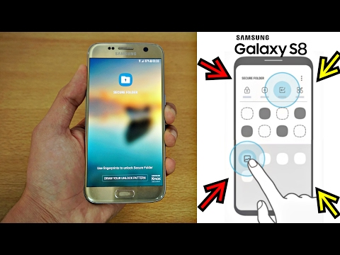 What is Secure Folder on Galaxy S8 and Galaxy Note8? - The