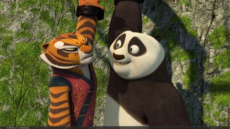 what is the best moment of Po and Tigress in the history