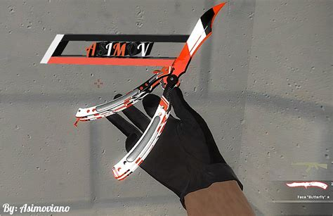 Butterfly Asiimov [Counter-Strike: Global Offensive] [Skin