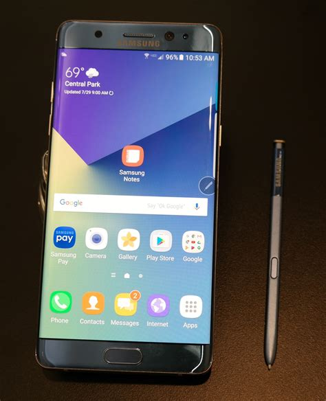 Samsung Galaxy Note 7 Gets an Edge, Secure Folder, & New S