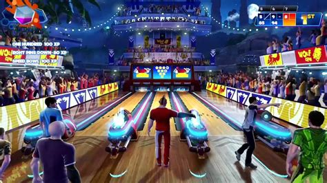 Kinect Sports Rivals : Bowling - YouTube
