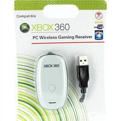 PC WIRELESS GAMING RECEIVER FOR MICROSOFT XBOX 360 DRIVER