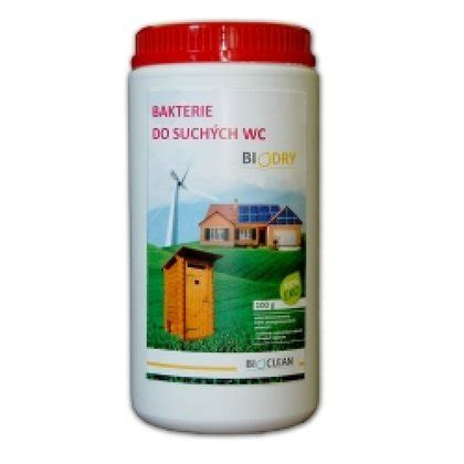 BioClean BioDry 1kg na 20m3 bakterie do SUCHYCH WC toalety