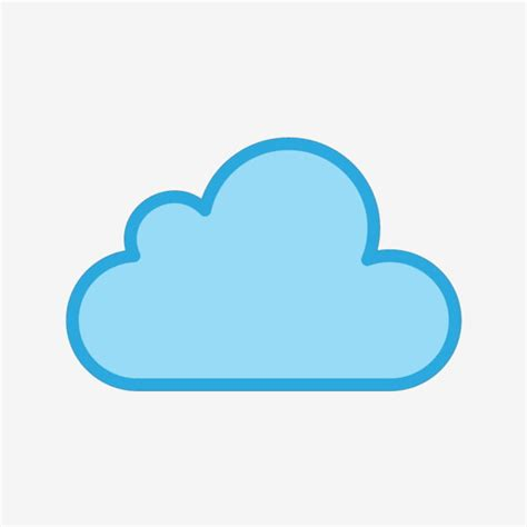 Vector Cloud Icon, Cloud Icons, Cloud, Data PNG and Vector