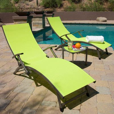 RST Brands Outdoor Sol Sling Folding Chaise Lounge - http