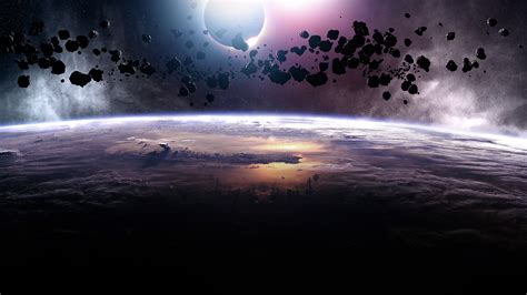 Asteroids Eclipse Wallpapers | HD Wallpapers | ID #12370