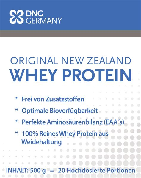 New Zealand Whey Protein (500g) - Bull-Attack by
