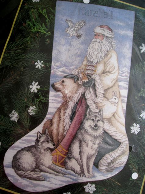 Dimensions Gold 8599 The North Wind Cross Stitch Christmas