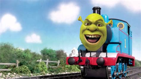 Thomas the Tank Engine but it's actually All Star with