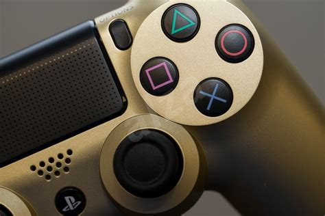 Sony PS4 DualShock 4 (Gold) - Wireless Controller