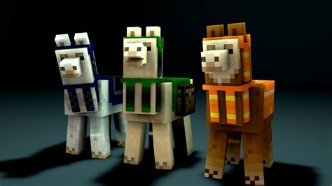 Minecraft Tutorial : How to tame and ride a Llama - YouTube