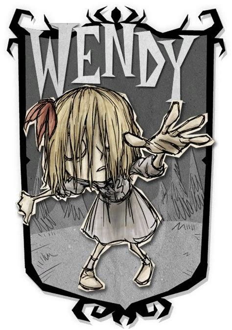 Wendy | Don't Starve Together Character Portraits | Don't