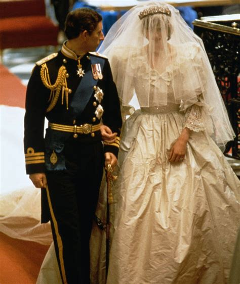 Diana Princess of Wales spilt THIS on her wedding dress