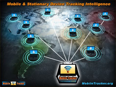 Mobile Tracker - a mobile device IP address tracking