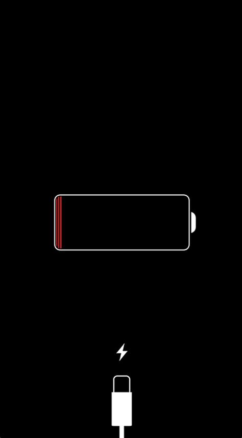 What to Do If You See a Red iPhone Battery Icon