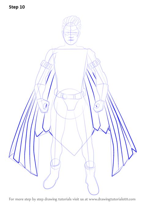 Learn How to Draw New 52 Robin (DC Comics) Step by Step