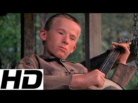 Creepy Deliverance banjo kid then and now