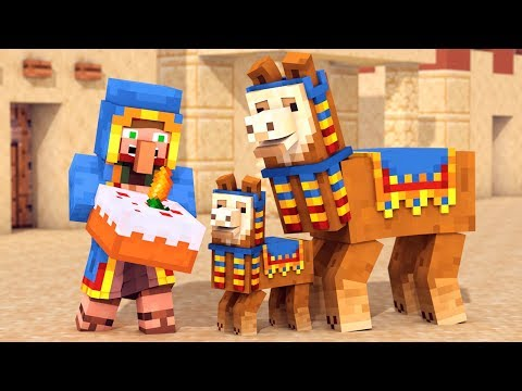 How to put Carpet on a Llama in Minecraft