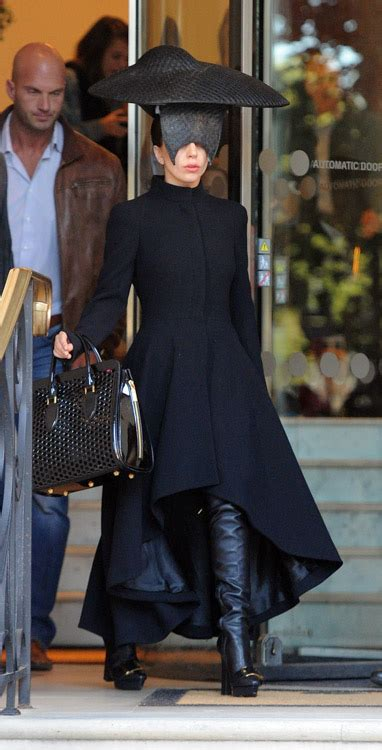 Lady Gaga's Alexander McQueen Bag is the Least Insane