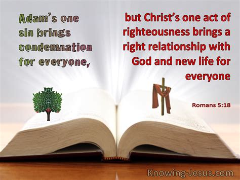 What Does Romans 5:18 Mean?