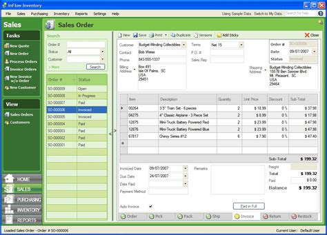 inFlow Inventory Software Free Edition 3