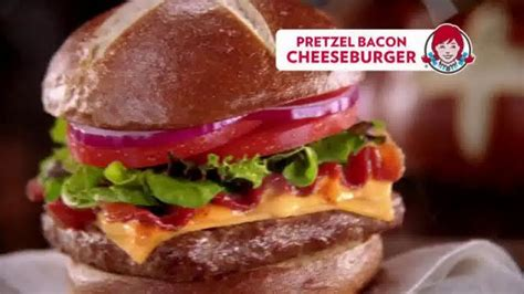 Wendy's Pretzel Bacon Cheeseburger TV Commercial, 'All By