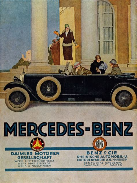 The history behind the Mercedes-Benz brand and the three